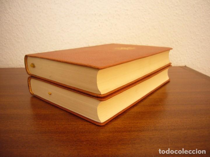 Libros antiguos: TOLSTOI: LA GUERRA Y LA PAZ. 2 VOLS. (VERGARA, 1959) PAPEL BIBLIA. PRIMERA ED. EN PLENA PIEL. - Foto 5 - 278611908