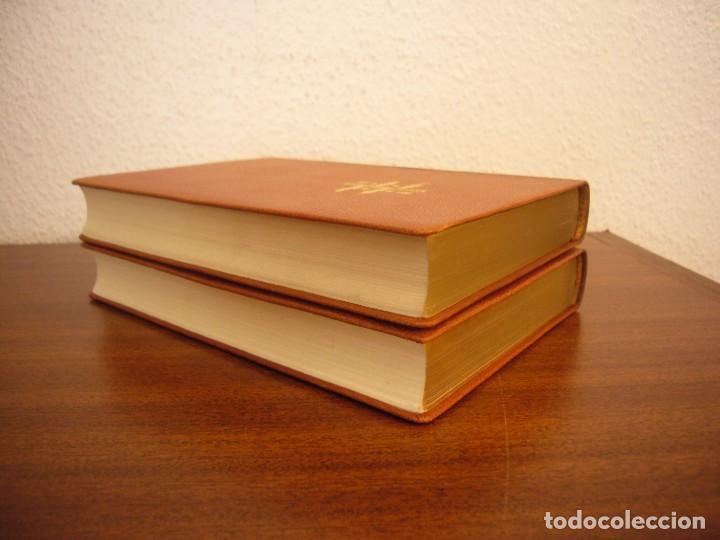 Libros antiguos: TOLSTOI: LA GUERRA Y LA PAZ. 2 VOLS. (VERGARA, 1959) PAPEL BIBLIA. PRIMERA ED. EN PLENA PIEL. - Foto 6 - 278611908