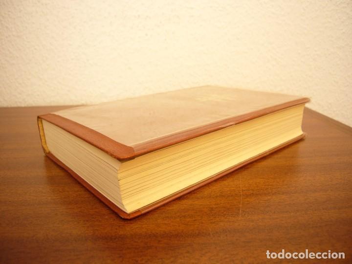 Libros antiguos: BÉCQUER: OBRAS (VERGARA, 1962) PAPEL BIBLIA. PRIMERA ED. EN PLENA PIEL CON ESTUCHE. PERFECTO. - Foto 4 - 278612818