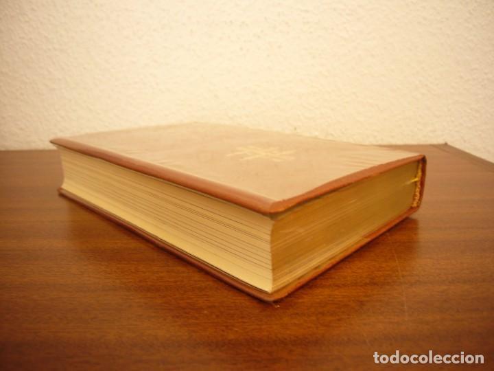 Libros antiguos: BÉCQUER: OBRAS (VERGARA, 1962) PAPEL BIBLIA. PRIMERA ED. EN PLENA PIEL CON ESTUCHE. PERFECTO. - Foto 5 - 278612818