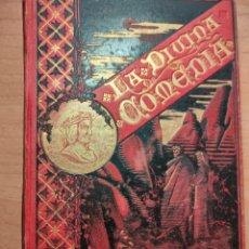 Libros antiguos: DIVINA COMEDIA 1883 DANTE. EDITORIAL SALVATELLA. Lote 281900088