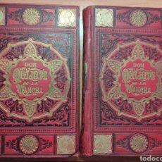 Libros antiguos: DON QUIJOTE DE LA MANCHA 1895. 2 TOMOS. Lote 281900708