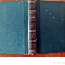 Libros antiguos: AÑO 1874: MUY RARO: DON QUIJOTE DE LA MANCHA. EN ESPAÑOL, PERO EDITADO EN LEIPZIG.. Lote 293640488