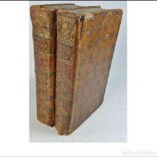 Libros antiguos: AÑO 1756: LOS CARACTERES, DE LA BRUYERE. 2 TOMOS DEL SIGLO XVIII.. Lote 295483418