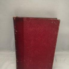Livros antigos: LOS MUERTOS MANDAN (RETAPADO TAPA DURA CON PIEL EN LOMO) PRIMERA EDICIÓN 1908. Lote 283502138