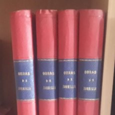 Libros antiguos: OBRAS COMPLETAS DE DON JOSÉ ZORRILLA - 4 TOMOS - AÑO 1905 - POESIAS - DRAMAS - MANUEL P. DELGADO. Lote 283843153
