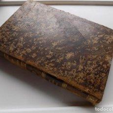 Livres anciens: LIBRERIA GHOTICA. LUJOSA EDICIÓN EN PIEL DE LAS OBRAS DE DIEGO DE SAAVEDRA FAJARDO. 1853. EMBLEMAS. Lote 283878753