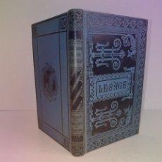 Libros antiguos: SEDUCTOR LIBRO PRECIOSA ENCUADERNACION EL BACHILLER DE SALAMANCA LESAGE 135 AÑOS. Lote 284252053
