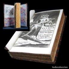 Libros antiguos: AÑO 1697 TYPHON O LA GIGANTOMAQUIA SÁTIRA DE SCARRON IMPRENTA DE MORTIER GRABADO NIGUNO EN ESPAÑA. Lote 285303863