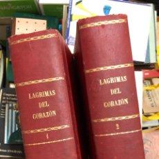 Libri antichi: LÁGRIMAS DEL CORAZÓN - DOS TOMOS - LUIS DE VAL - CRÉDITO EDITORIAL JOSE TRISTANY - ILUSTRADA. Lote 285688668