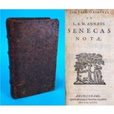 Libri antichi: AÑO 1658 - SENECAS NOTAE - PRECIOSA EDICIÓN ELZEVIRIANA DE 363 AÑOS.. Lote 285803523