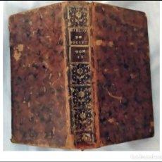 Livres anciens: AÑO 1782. BIBLIOTECA DE SOCIEDAD. LIBRO DEL SIGLO XVIII. CURIOSIDADES Y ANÉCDOTAS.. Lote 286324658
