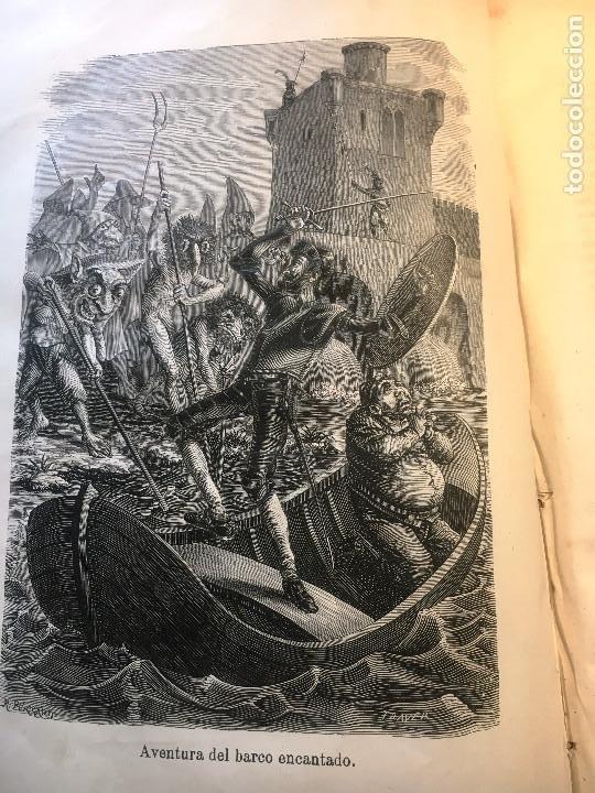 Libros antiguos: EL QUIJOTE. EDICION DE 1876- TIRADA DE GRAN LUJO- -Obradors y Suli- Barcelona- - Foto 6 - 286516613