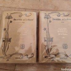 Libros antiguos: EL FANTASMA DE LA ÓPERA, 1911, BIBLIOTECA DE LA NACIÓN 448 Y 449, BUENOS AIRES. Lote 286748498