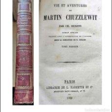 Livres anciens: AÑO 1866: LIBRO DE CHARLES DICKENS DEL SIGLO XIX. Lote 286887918