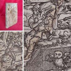Libri antichi: AÑO 1593 - LA CAZA - ( PERROS, HALCONES, MEJORES LUGARES PARA CAZAR, ETC) - GRABADOS - MUY COTIZADO. Lote 287180003