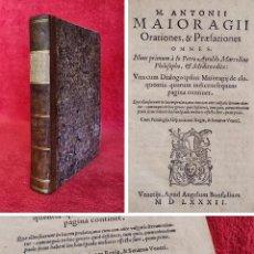 Libri antichi: AÑO 1582 - 20 CM - PRECIOSO LIBRO DEL SIGLO XVI EN EXCEPCIONAL ESTADO DE CONSERVACIÓN - HUMANISMO. Lote 287412143