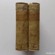 Libros antiguos: EXCEPCIONAL POSTINCUNABLE EN 2 TOMOS.MARCI TULI CICERONIS -PHILOSOPHIA -PHILOSO.1548.1551. PERGAMINO. Lote 287608398