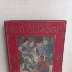 Libros antiguos: AVENTURAS DE DON QUIJOTE PARTE I.. MIGUEL DE CERVANTES. COLECCIÓN ARALUCE, 1914.. Lote 287856913