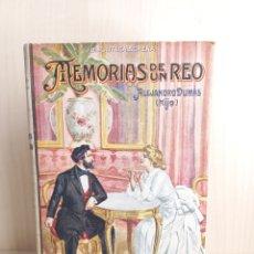 Libros antiguos: MEMORIAS DE UN REO. ALEJANDRO DUMAS HIJO. EDITORIAL RAMÓN SOPENA, COLECCIÓN BIBLIOTECA SOPENA 98.. Lote 288006903
