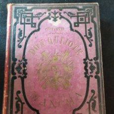Livres anciens: EL INGENIOSO HIDALGO DON QUIJOTE DE LA MANCHA .CUARTA EDICION DE GRAN LUJO. RAMON PUIGGARÍ .1881. Lote 288027878