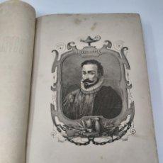 Libros antiguos: EL QUIJOTE. ILUSTRACIONES DE PUIGGARI. 1881. ERROR DE ENCUADERNACIÓN. ESCUCHO OFERTAS.. Lote 288729078