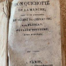 Libros antiguos: DON QUICHOTE DE LA MANCHE, FLORIAN, 1808 (CAJ 5). Lote 288975518
