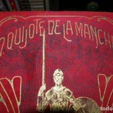 Libros antiguos: DON QUIJOTE DE LA MANCHA TOMO I EDICION CROMOTIPICA VDA. DE TASSO 350 ACUARELAS DE TUSELL. Lote 291593108