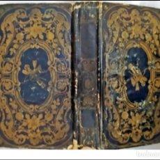Libros antiguos: AÑO 1827: LOS CARACTERES, DE LA BRUYERE. BONITA Y ORIGINAL ENCUADERNACIÓN.. Lote 293453388