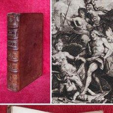 Libros antiguos: AÑO 1740 - TEOFRASTO (SIGLO IV A.C) - LOS CARÁCTERES - GRABADOS - OBRA MAESTRA DE LA LITERATURA. Lote 294021293