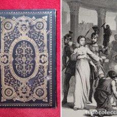 Livros antigos: AÑO 1860 - LUCIA - NOVELA HISTORICA - HISTORIA DE SIRACUSA BAJO EL REINO DE DIOCLECIANO - GRABADOS. Lote 294033198