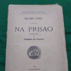 Libros antiguos: 1905. EN LA PRISIÓN. MÁXIMO GORKI.. Lote 294502268