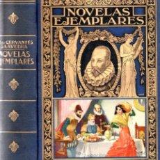 Libros antiguos: NOVELAS EJEMPLARES - MIGUEL DE CERVANTES - ED. RAMÓN SOPENA 1935. Lote 295460163