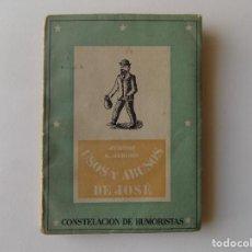 Libros antiguos: LIBRERIA GHOTICA. LIBRO MINIATURA. JEROME. USOS Y ABUSOS DE JOSE. EDICIONES LA GACELA 1942.. Lote 295531468
