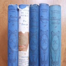 Libros antiguos: 5 EJEMPLARES NELSON AND SONS. Lote 295591618