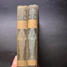 Libros antiguos: LA HIJA DEL REY DE EGIPTO. TOMO I Y II. JORGE EBERS. BIBLIOTECA ARTE Y LETRAS. BARCELONA, 1881.. Lote 295738378
