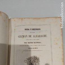 Libros antiguos: GUZMAN DE ALFARACHE. MATEO ALEMAN.. Lote 295846013