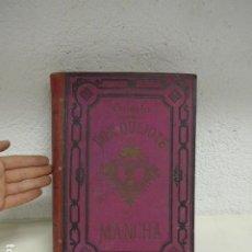 Libros antiguos: ANTIGUO LIBRO ORIGINAL TOMO 1 Y 2 DEL DON QUIJOTE DE LA MANCHA, 1881, BARCELONA. CERVANTES.. Lote 295864768