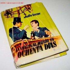 Libros antiguos: VERNE, JULIO - LA VUELTA AL MUNDO EN 80 DÍAS - EDIT. MATEU - BARCELONA 255 PAGINAS. Lote 4826026