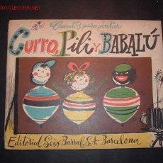 Libros antiguos: CUENTO PARA PINTAR DE LA EDITORIAL SEIX BARRAL,S.A.-BARCELONA . Lote 8790174