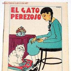 Libros antiguos: ANTIGUO CUENTO DE CALLEJA - EL GATO PEREZOSO. Lote 942054