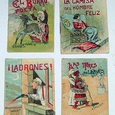 Libros antiguos: CUATRO ANTIGUOS CUENTOS ORIGINALES DE SATURNINO CALLEJA Y DE ROVIRA Y RIQUES, RYVADENEYRA. Lote 13704649