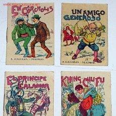 Libros antiguos: CUATRO ANTIGUOS CUENTOS ORIGINALES DE SATURNINO CALLEJA. Lote 14091659