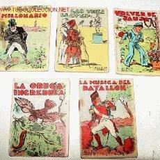 Libros antiguos: ANTIGUOS 5 CUENTOS DE SATURNINO CALLEJA - SERIE DE JUGUETES INSTRUCTIVOS - MIDEN 7 X 5 CMS. Y CONSTA. Lote 13661508