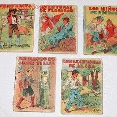 Libros antiguos: ANTIGUO LOTE DE 5 CUENTOS DE CALLEJA (7) - 7 X 5 CMS.. Lote 14091695