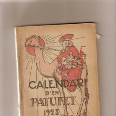 Livros antigos: CALENDARI D'EN PATUFET 1928. 20 X 4 CM. 191 P.. Lote 4485376