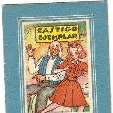 Libros antiguos: CASTIGO EJEMPLAR. BARCELONA : VILCAR, S.A, COL. MARGARITA 2DA. SERIE Nº 12. 13 X 9 CM. 16 P.. Lote 3107822