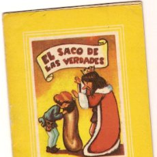 Libros antiguos: EL SACO DE LAS VERDADES . BARCELONA : VILCAR, S.A, COL. MARGARITA 1RA. SERIE Nº 10. 13 X 9 CM. 16 P.. Lote 3107825