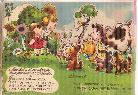 Libros antiguos: ¿Dónde estará Borreguito, el pequeño corderito? / Cuento y dib. R. Sabatés . - Foto 2 - 26143040