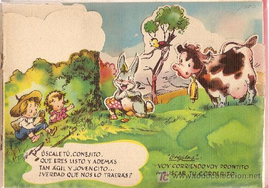 Libros antiguos: ¿Dónde estará Borreguito, el pequeño corderito? / Cuento y dib. R. Sabatés . - Foto 3 - 26143040